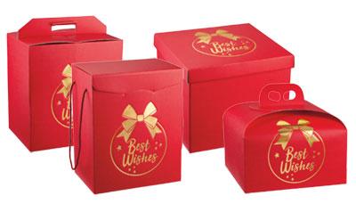 Sicar Carta - Ingrosso carta plastica imballaggi - Scatole confezionamento natalizio - Box Home 01